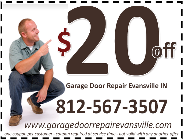 Garage Door Repair Evansville IN Coupon